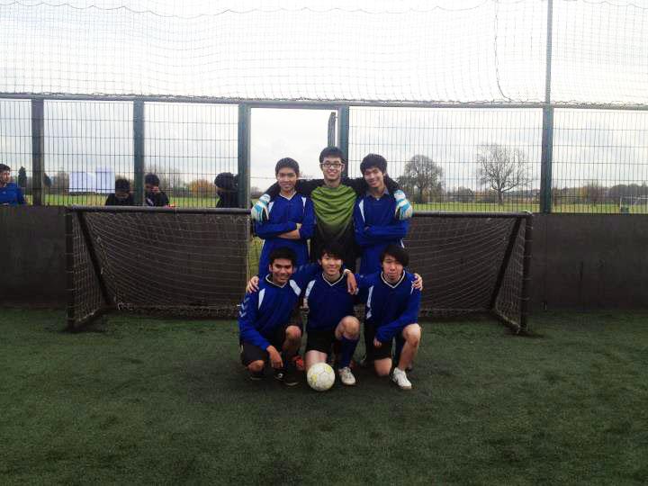 CUMaS Football Team 2012