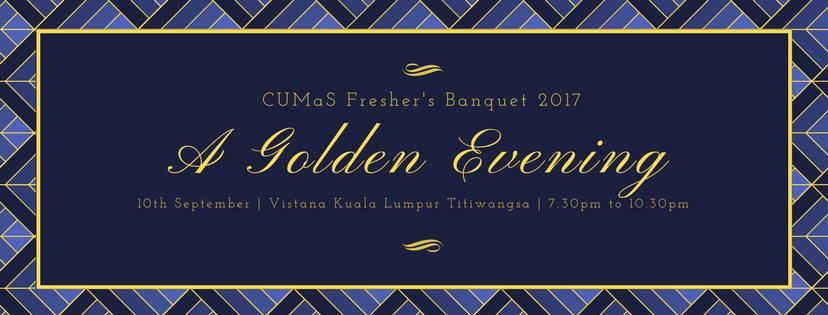 CUMaS Fresher's Banquet 2017