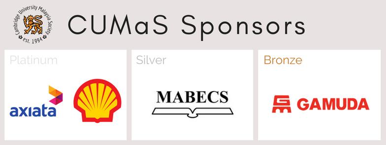 CUMaS Sponsors